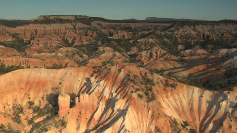 Striated canyons and valleys Footage