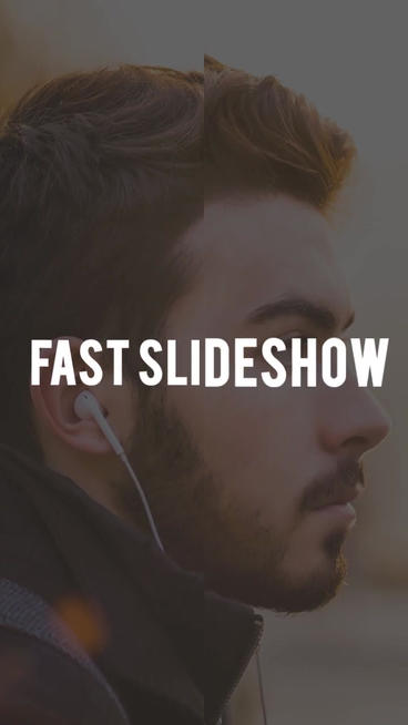 Fast Slideshow Plantilla de After Effects