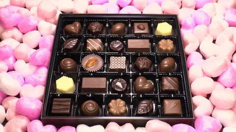 Chocolate for Valentines day ビデオ