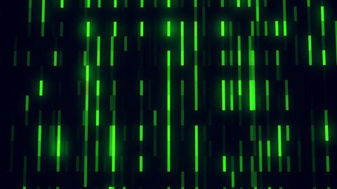 Green Glowing Digital Neon Lines VJ Loop Motion Background Animation