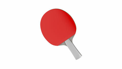 Table tennis racket Animation