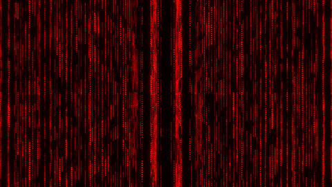 Red Glowing Matrix Grid Lines VJ Loop Motion Background Animation