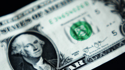 4K United States Dollar Bill Footage