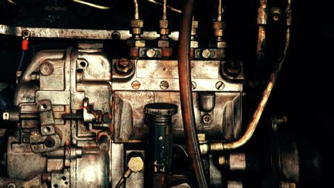 Antique Diesel Engine Live Action