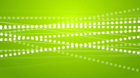 Abstract moving lines with beads video animation Animation