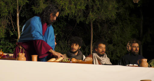 Last Supper prediction Judas betrayal, Live Action