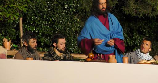 Last Supper prediction Judas betrayal Footage