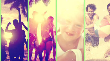 Summer SlideShow After Effects Templates