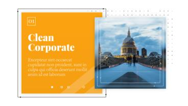 Clean Corporate - Business Presentation After Effects Template