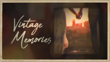 Vintage Memories Premiere Proテンプレート
