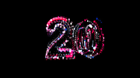 Letters are collected in number twenty 20, then scattered into strips. Bright Animation
