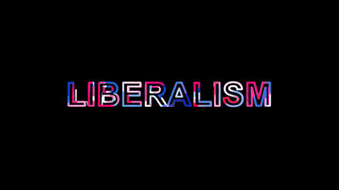 Letters are collected in political system LIBERALISM, then scattered into Animation