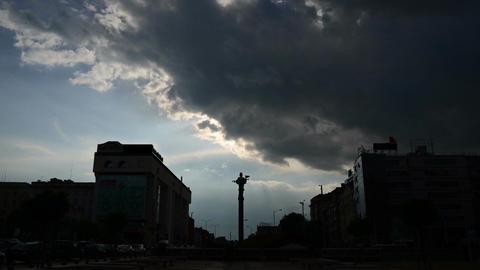 Statue of Sveta Sofia Footage