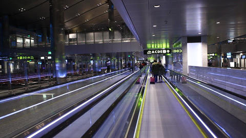 Interior of Airport Live Action