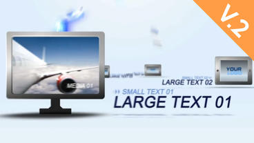 Multi Devices 30s Commercial (V.2) - After Effects Template After Effects Template