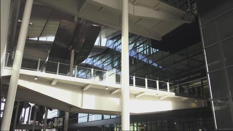 Heathrow Airport Terminal 2 Footage