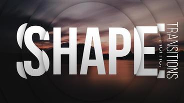 Shape Transitions Premiere Proテンプレート