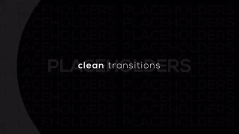 Clean Transitions Premiere Pro Template