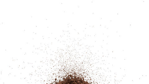 Hot chocolate or cocoa drink slow motion flow and... Stock Video Footage