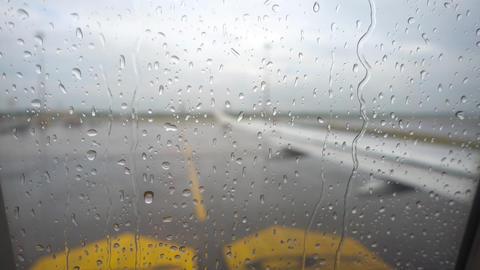 Before departure, rainy weather 画像