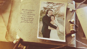 Vintage Wedding Gallery After Effects Template