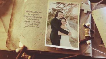 Vintage Wedding Gallery Plantilla de After Effects