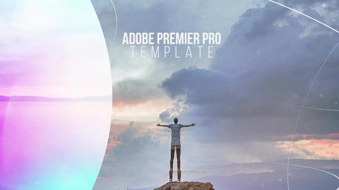 Stylish Parallax Slideshow Premiere Pro Template
