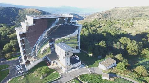 The world's largest solar furnace in Font-Romeu-Odeillo (France) ライブ動画