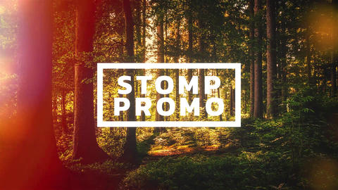 Stomp Promo After Effects Template