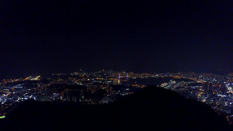 A night view of Busan 画像