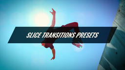 Slice Transitions Presets Premiere Proテンプレート