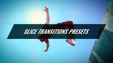 Slice Transitions Presets Premiere Pro Template