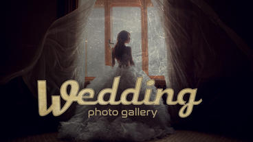 Wedding photo gallery Apple Motion Template
