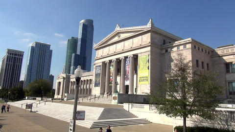 National History Museum Chicago - CHICAGO, ILLINOIS/USA stock footage