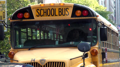 School Bus - CHICAGO, ILLINOIS/USA Live Action