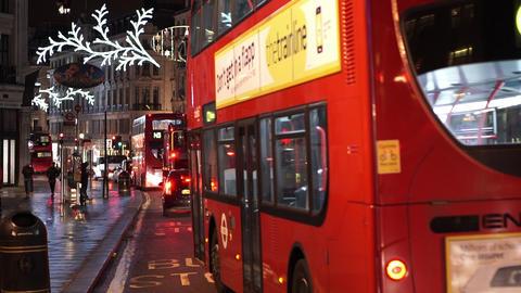 Christmas decoration 2014 London - LONDON, ENGLAND NOVEMBER 20, 2014 Live Action