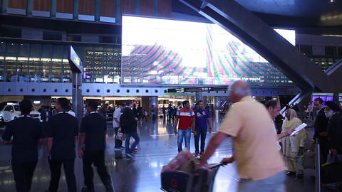 Airport Interior Live Action