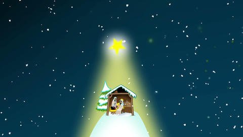 The Nativity Scene Animation