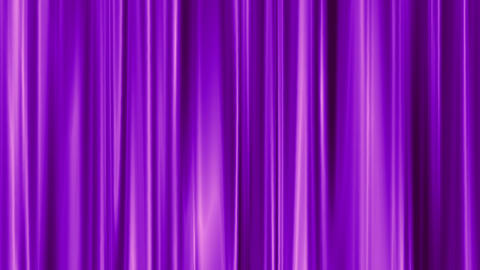 deep purple curtain swaying like theater Animation
