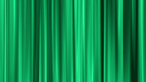 green curtain swaying like theater Stock Video Footage