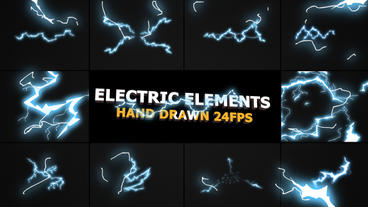Flash FX Electric Elements After Effects Template