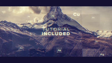 Clean Slideshow Plantilla de After Effects
