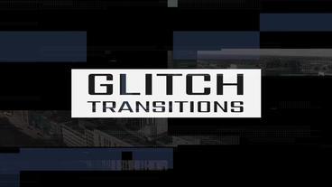 Glitch Transitions Premiere Pro Template