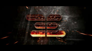 Fire Logo Intro After Effects Template