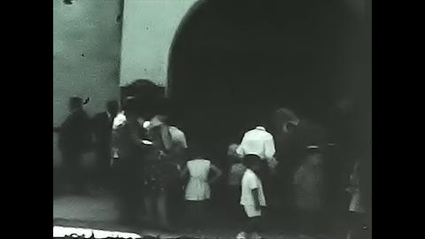 People outside the church GIF