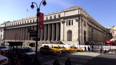 United States Post Office Manhattan New York – MANHATTAN, NEW YORK/USA NOVEMBE Footage