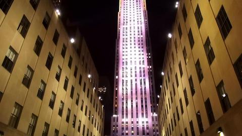 Rockefeller Center – MANHATTAN, NEW YORK/USA NOVEMBER 20, 2013 Live Action