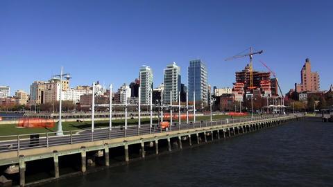 Great Pier for recreation at Manhattan Midtown – MANHATTAN, NEW YORK/USA NOVEM Live Action