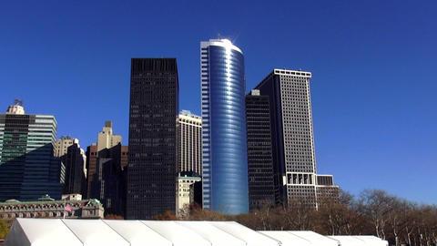 Financial District of Manhattan Downtown – MANHATTAN, NEW YORK/USA NOVEMBER 20 Live Action