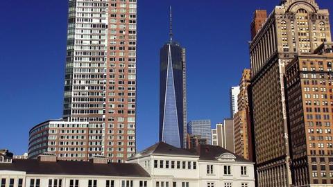 The new World Trade Center in Manhattan – MANHATTAN, NEW YORK/USA NOVEMBER 20, Live Action
